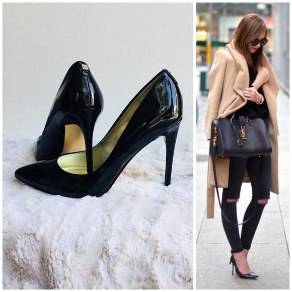 3c5de1a023a Ivanka Trump Shoes - Black Patent Leather stilettos